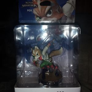 Super Smash Bros Fox Amiibo